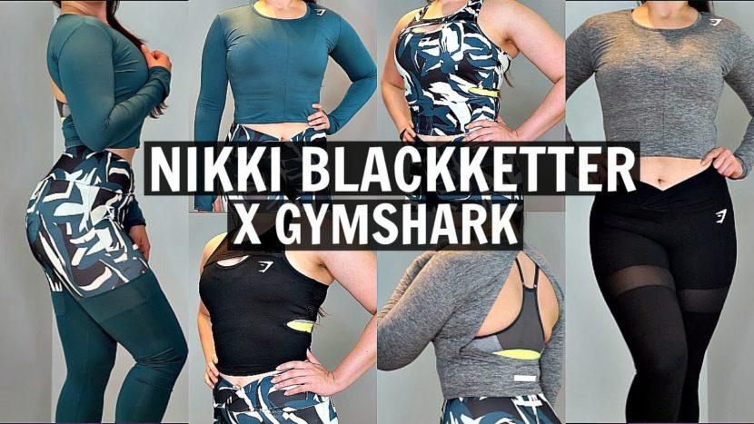 ad93e132a289f Nikki Blackketter By Gymshark Haul & Try On | First Impressions ...